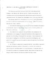 Jekyll Island Authority board minutes 1954
