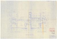 Floor plan: Proposed duplex for Shaw and Virginia Benderly