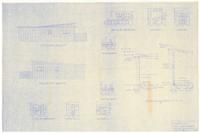 End views, typical wall section and various structural details: Proposed duplex...