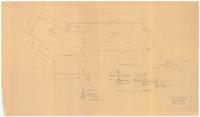 Foundation plan and sections: One story residence for Mr. G. H. Dorr II. 2/5...