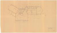 Floor plan: One story residence for Mr. G. H. Dorr II. 3/5