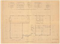 Floor plan and interior details. sheet 2 of 4