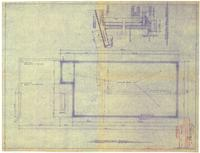 Foundation plan and typical wall section. 1 of 4