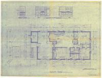 Floor plan and interior elevations. 2 of 4