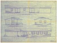 Exterior elevations. 3 of 4