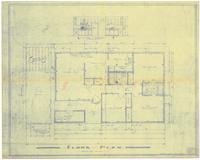 Floor plan and interior details. Sheet 2 of 2