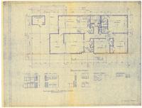 Floor plan and interior details: Sherman series. 2