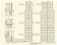 Wood double hung windows
