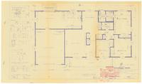 Floor plan and interior details