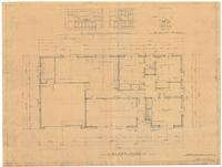 Floor plan and interior elevations. Sheet 2 of 4