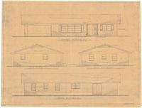 Exterior elevations. Sheet 3 of 4