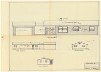 Exterior elevations. page 3