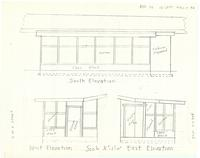 Screen porch elevations. sheet 3 of 5
