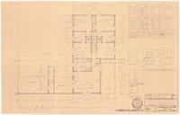 Floor plan and interior details: Schedules. 2 of 3