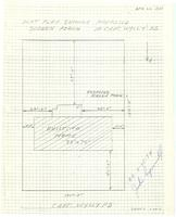 Plot plan showing proposed screen porch. Sheet 1 of 5