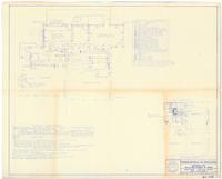 Plumbing, electrical and air conditioning details. Sheet 3 of 4