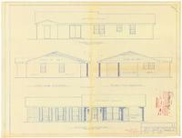 Exterior elevations. 1