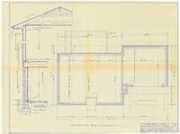 Foundation plan and section. 5
