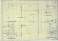 Foundation plan and other details. 1 of 3