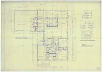 Floor plan and kitchen elevations. 2 of 3