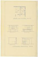 Kitchen plan and elevations