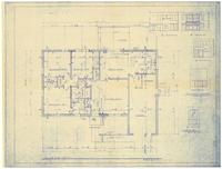 Floor plan and interior details