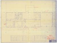 Floor plan and schedules: The Hilton (plan). 1 of 4