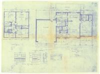 Main and upper floor plan: Interior details