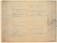 Front and rear elevations. 3 of 4