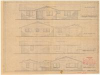 Exterior elevations. 3 of 3