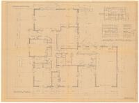 Floor plan and interior details. 2 of 3