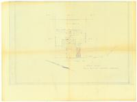 Plot plan with notes