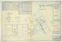 Floor plan and sections. 1