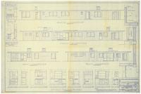 Exterior elevations and kitchen layout. 2