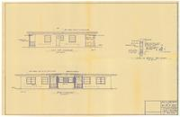 Rear and left side elevations. 3 of 3