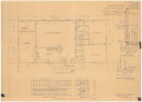 Floor plan and kitchen details. 2