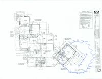 Floor plan with notes