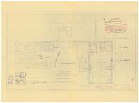 Floor plan: Servant's quarters addition. 1 of 3