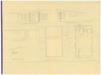 Elevations and foundation plan: Servant's quarters addition. 2 of 3