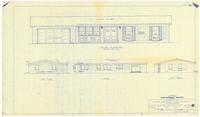 Exterior elevations. 2 of 6