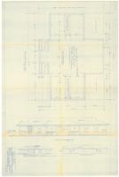Foundation plan and elevations. 2 of 3