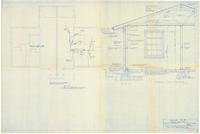 Typical wall section. 3 of 3, Air condition and heat duct layout