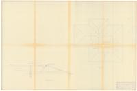 Roof plan and cross section: Addition. 2 of 2