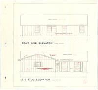Right and left side elevations