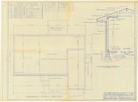 Foundation plan and typical wall section. 3