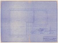 Foundation plan and sections. 4